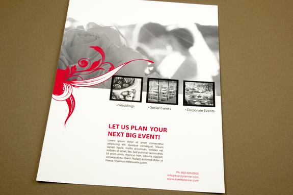 Event Planner Flyer Template Inkd