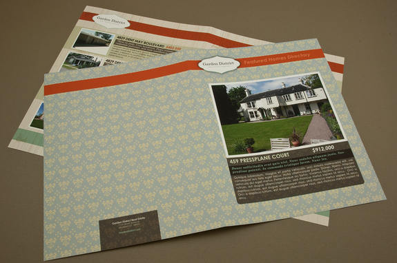 Real Estate Newsletter Template Inkd