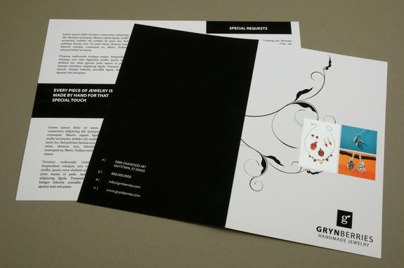 Jewelry Company Brochure Template Inkd