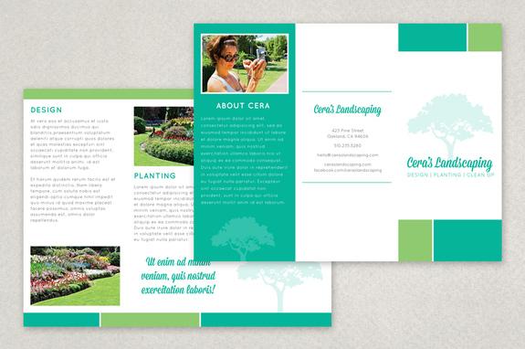 Free Brochure Template - Free Brochure templates Design Sample Inkd
