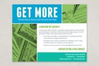 Maximum Tax Refund Flyer Template | Inkd