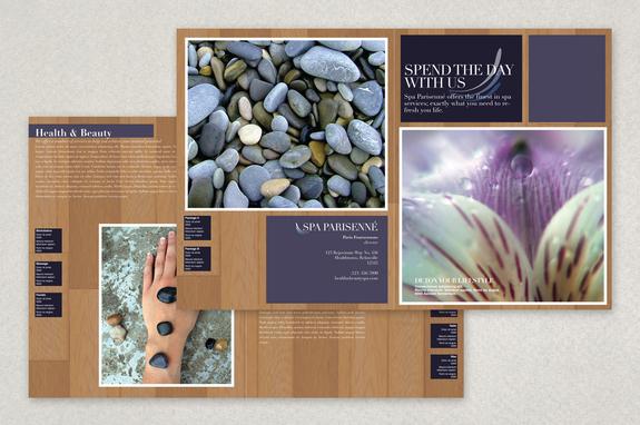 Health Spa Brochure Template Inkd - spa brochure