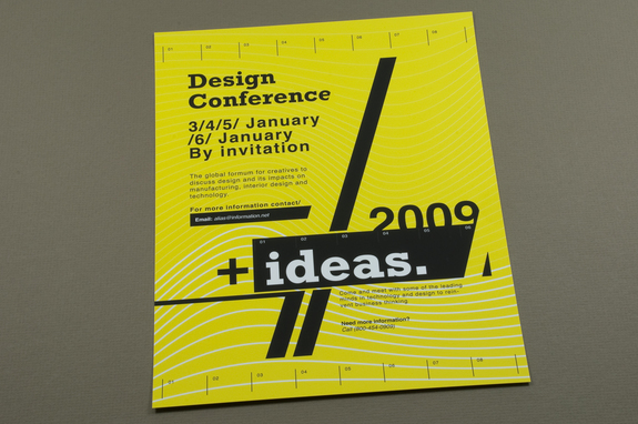 Contemporary Design Conference Flyer Template Inkd - contemporary flyer