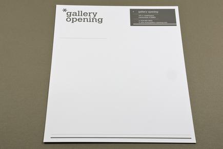 Contemporary Gallery Letterhead Template Inkd