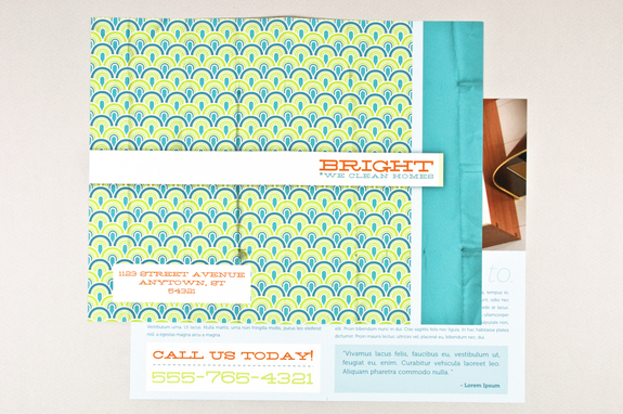 Bright Cleaning Brochure Template Inkd