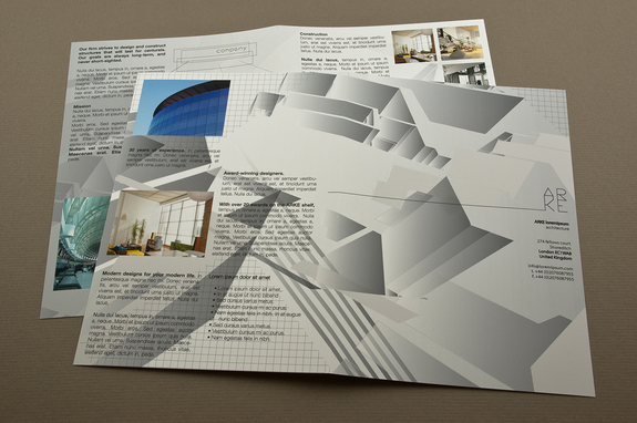 Architecture Firm Brochure Template Inkd - architecture brochure template