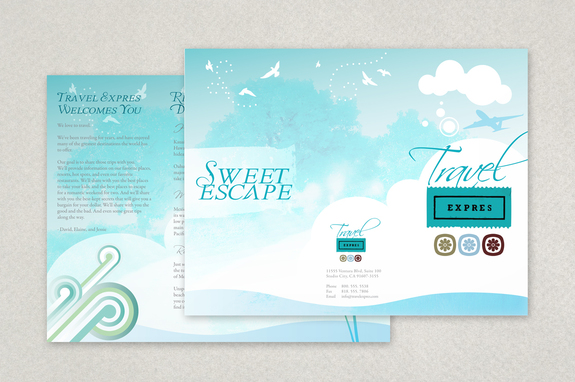 Travel and Tourism Brochure Template Inkd - Vacation Brochure Template