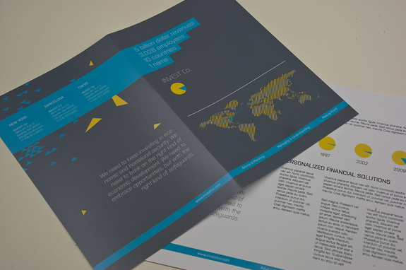 Investment Company Brochure Template Inkd - Company Brochure Templates
