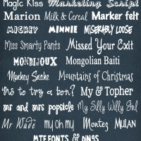 M Fonts have arrived at inkhappi... Come see!