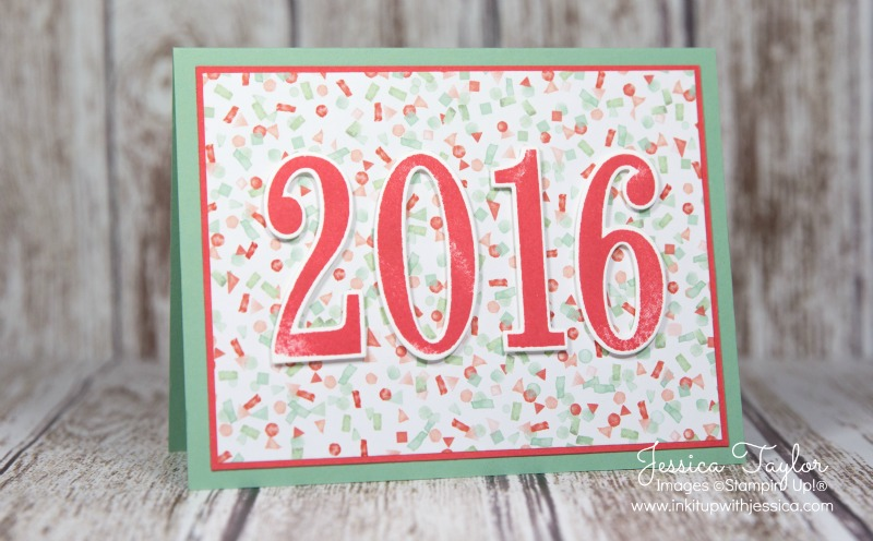happy new year 2016 ink it up with jessica card making ideas make