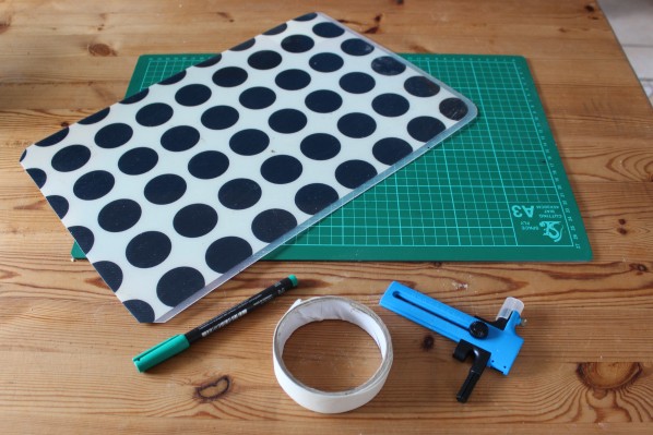 How to make your own tuile template \u2013 Ink Sugar Spice - make your own template