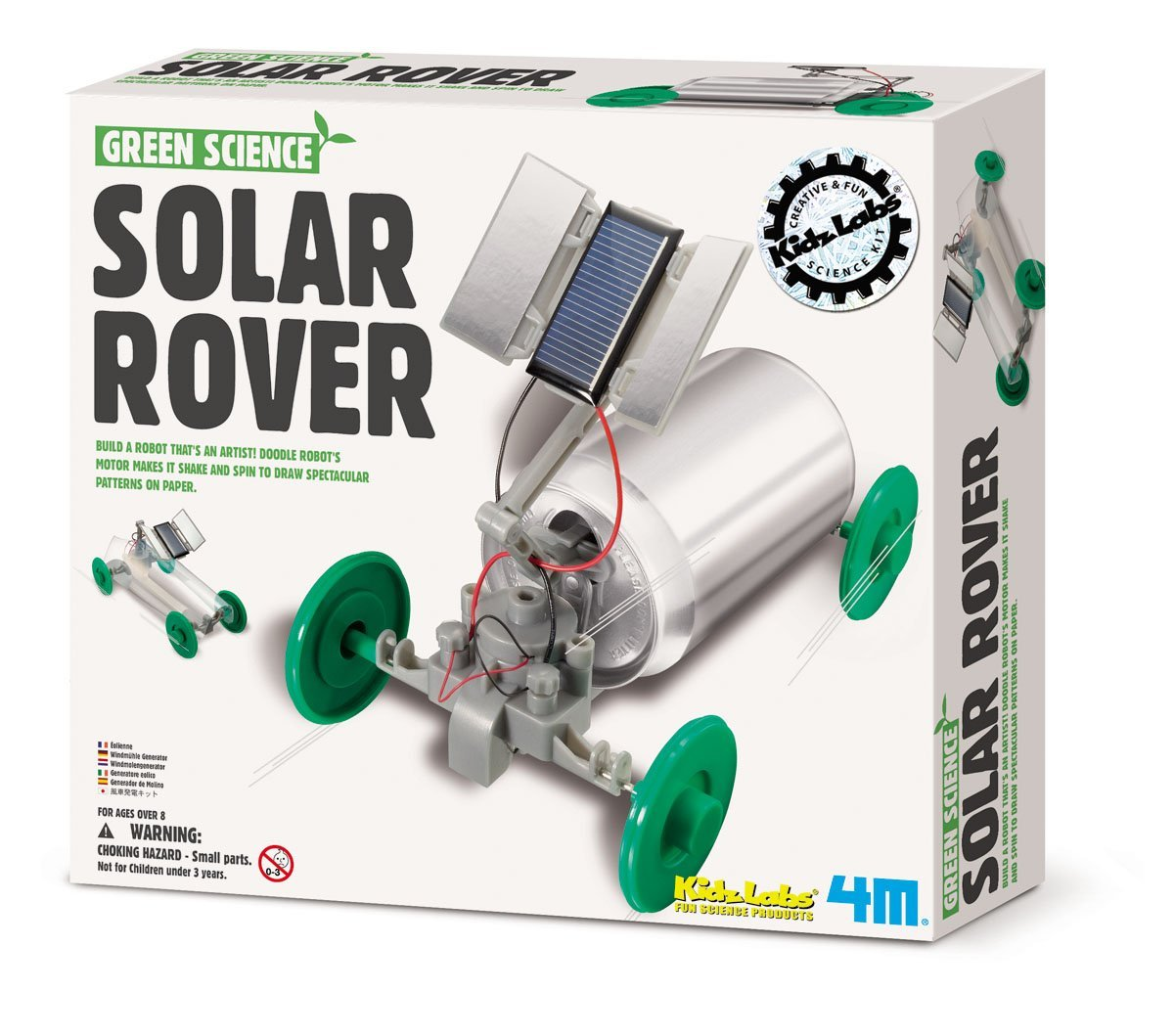 Diy Solar Panels Soda Cans Tech Gifts For Kids 4 Solar Powered Toys That Teach