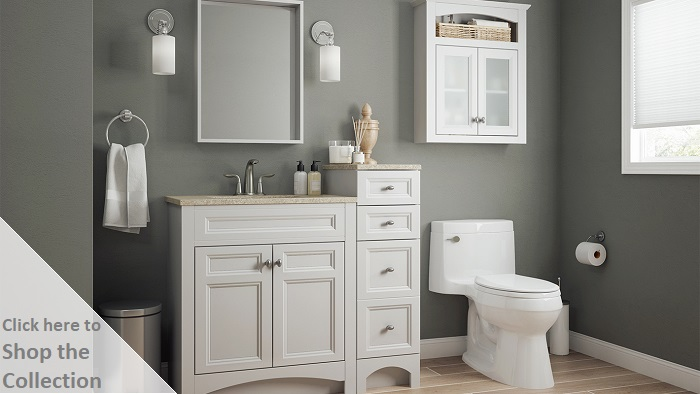 Glacier Bay Modular 12 In W X 31 In H X 6 In D Bathroom
