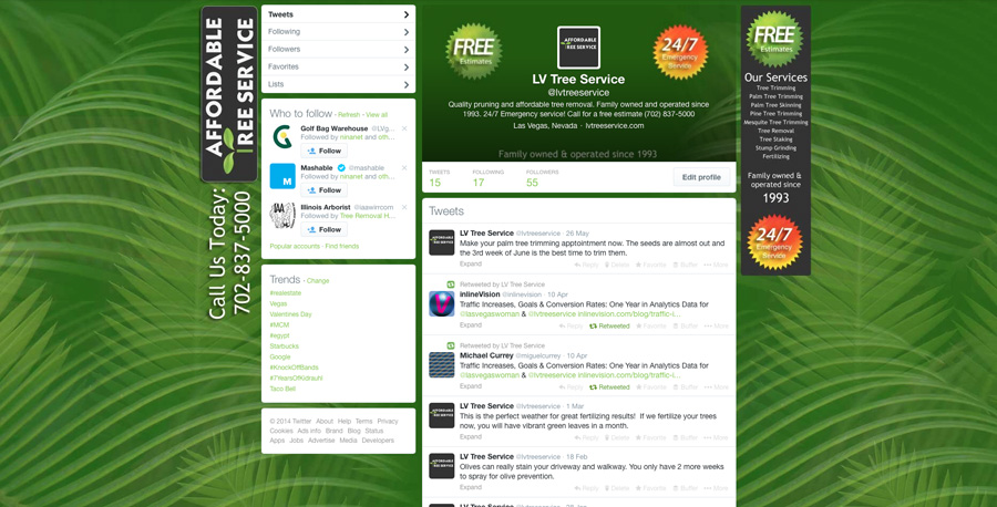 Twitter Background Template for Photoshop - Seamless Design - free profile templates