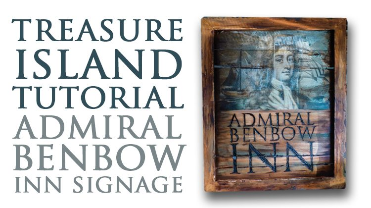 Large Instagram Frame Prop How To Treasure Island Admiral Benbow Inn Signage In