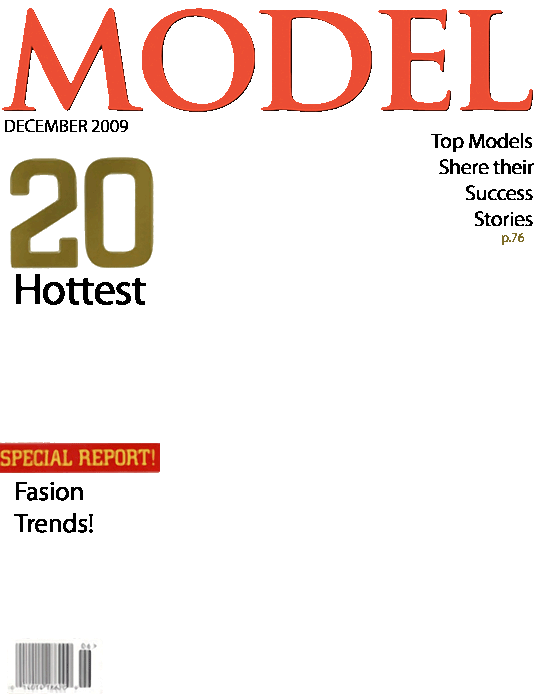 Magazine Cover Page Template Free - Costumepartyrun