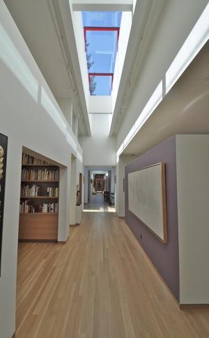 Atrium Nosler house in Menlo Park