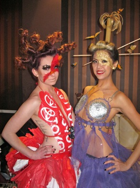 Trashion Show models