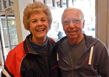 Hirzel customers Elisabeth and Rich Pierce