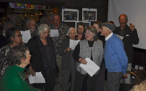 Lou Matis_100th birthday_serenade