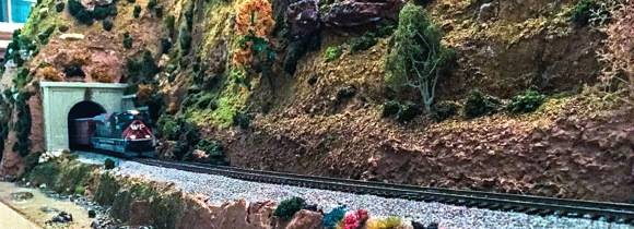 Model railroad three