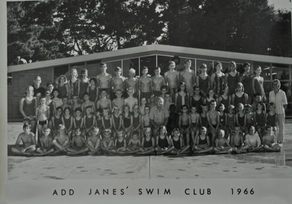Add Janes Swim Club 1966