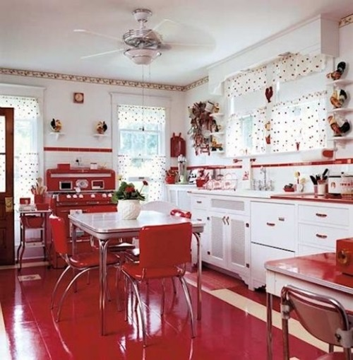 Kitchen Decorating Ideas with Apple Theme - kitchen decorating theme ideas