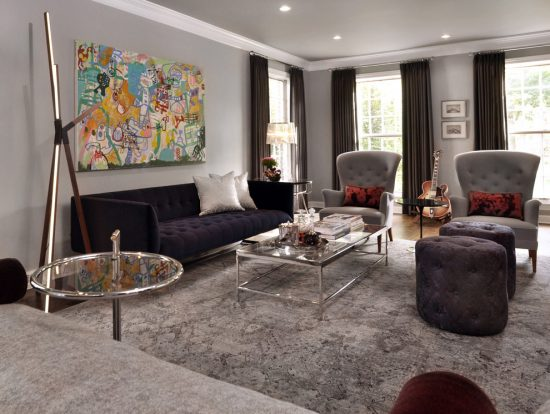 your living room with a modern and beautiful ottoman of new 2016 - living room ottoman