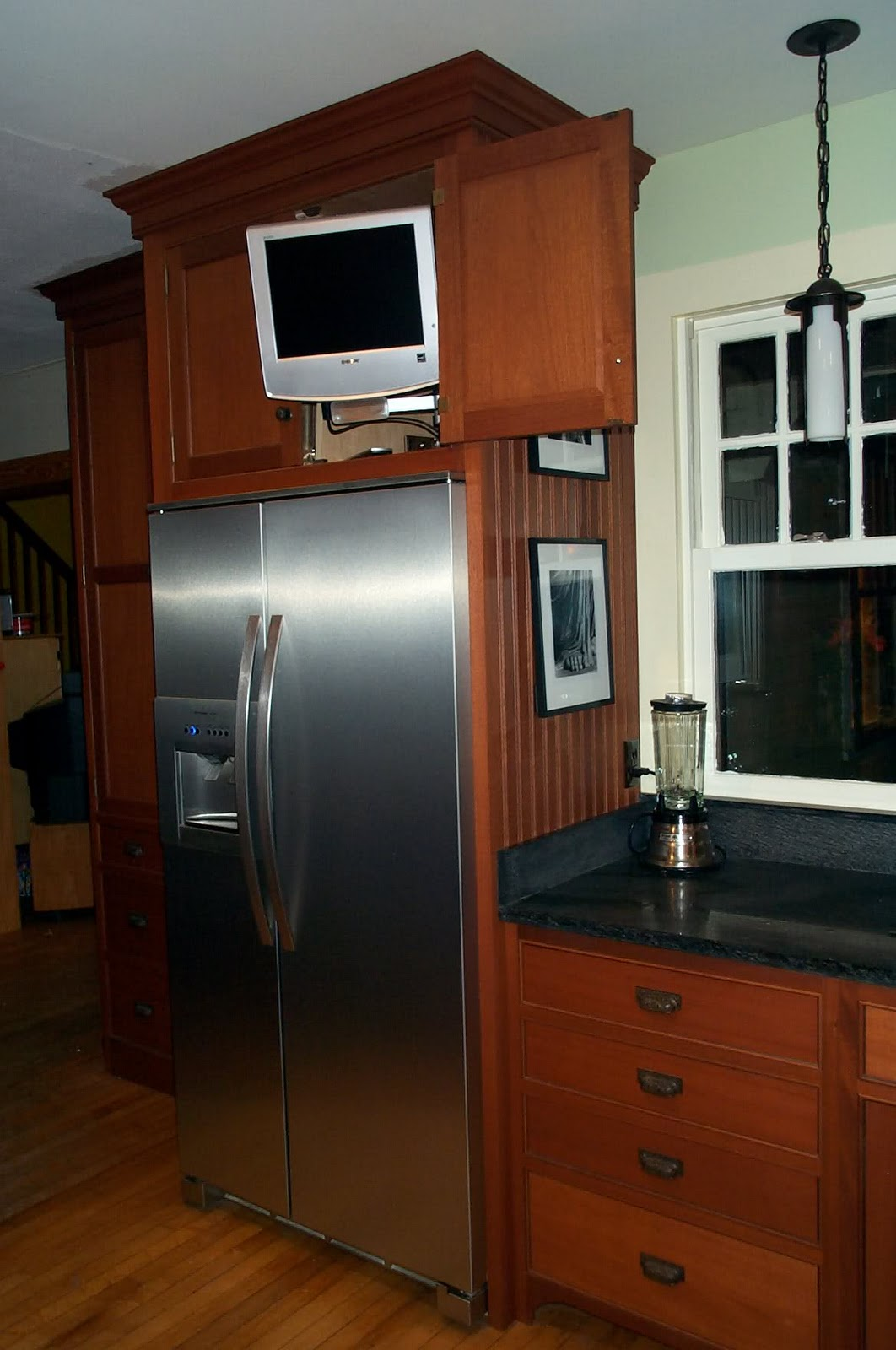 Kitchen Cabinets Around Refrigerator Cabinets Over The Refrigerator In My Hummel Opinion