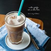 Snelle ijskoffie - Iced vanilla latte