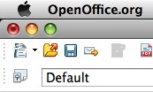 OpenOffice 3.0 Save Icon
