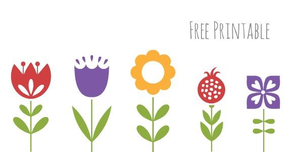 Free Printable - Spring Flower Matching Game - Inner Child Fun