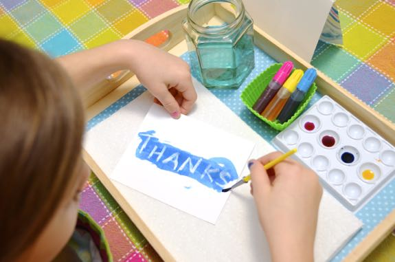 Hand Painted Thank You Cards - Inner Child Fun