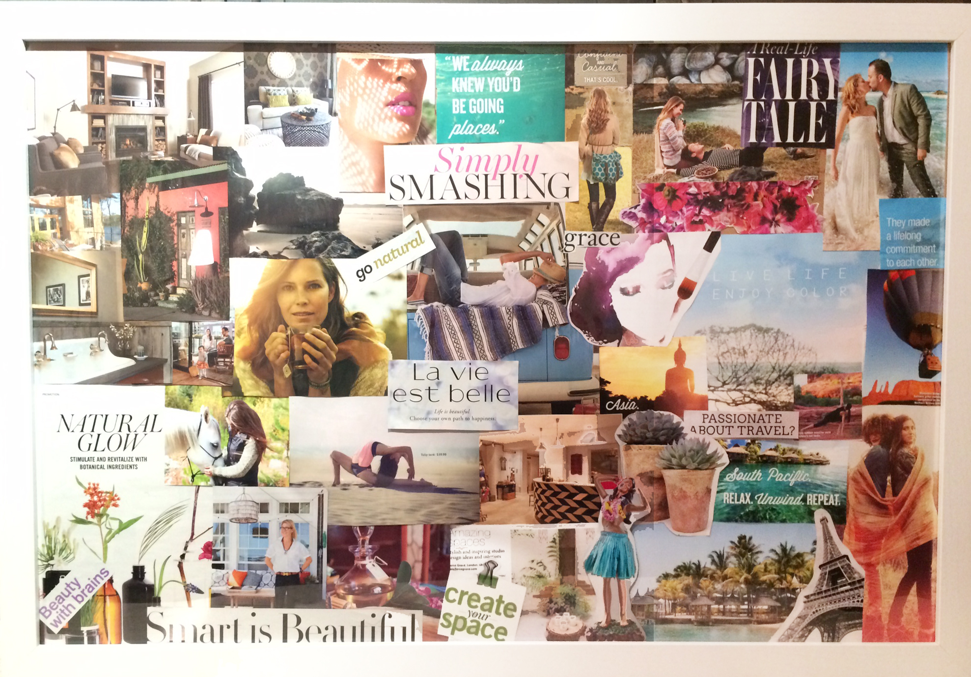 Feng Shui Bagua Vision Board Creating A Vision Board Using The Bagua Map Inner