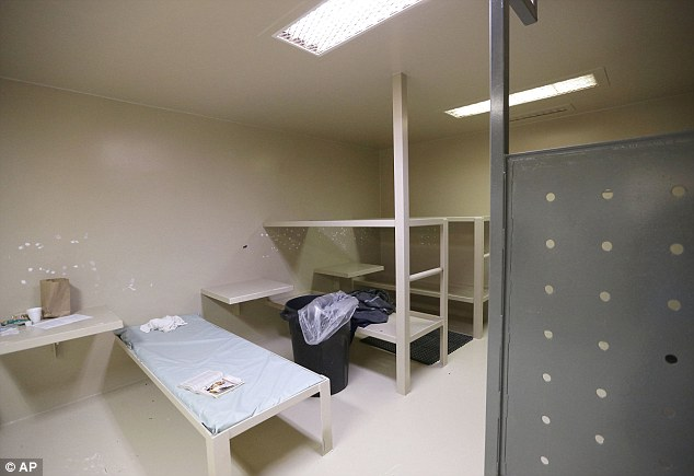 Cell: Bland was found dead in this cell inside the Waller County Jail in Texas on July 13