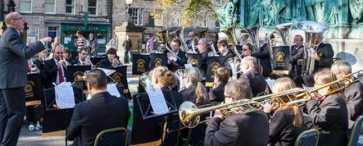 InnerTuba Morecambe Brass Band Dalton Square Lancaster Music Festival 2014