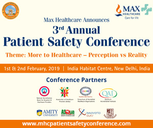 Maxhealthcare - third annual safety-healthcare conference