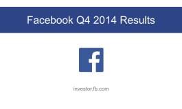 Facebook представил квартальный отчет: доходы от рекламы растут быстрее пользователей