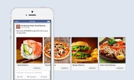 Facebook открыл карусель для рекламы приложений