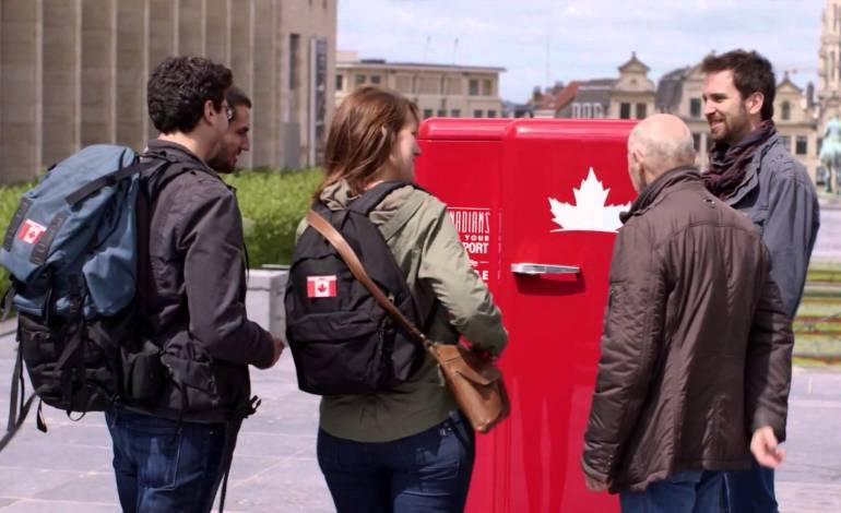Molson открывает холодильник канадцам