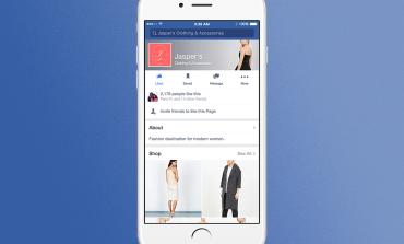 Facebook встраивает магазины прямо в социальную сеть