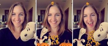 Как в Snapchat появился брендированный эффект нового мультфильма про Снупи
