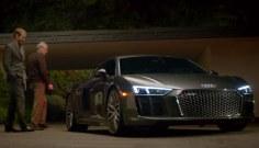 Audi R8: Космос как предчувствие
