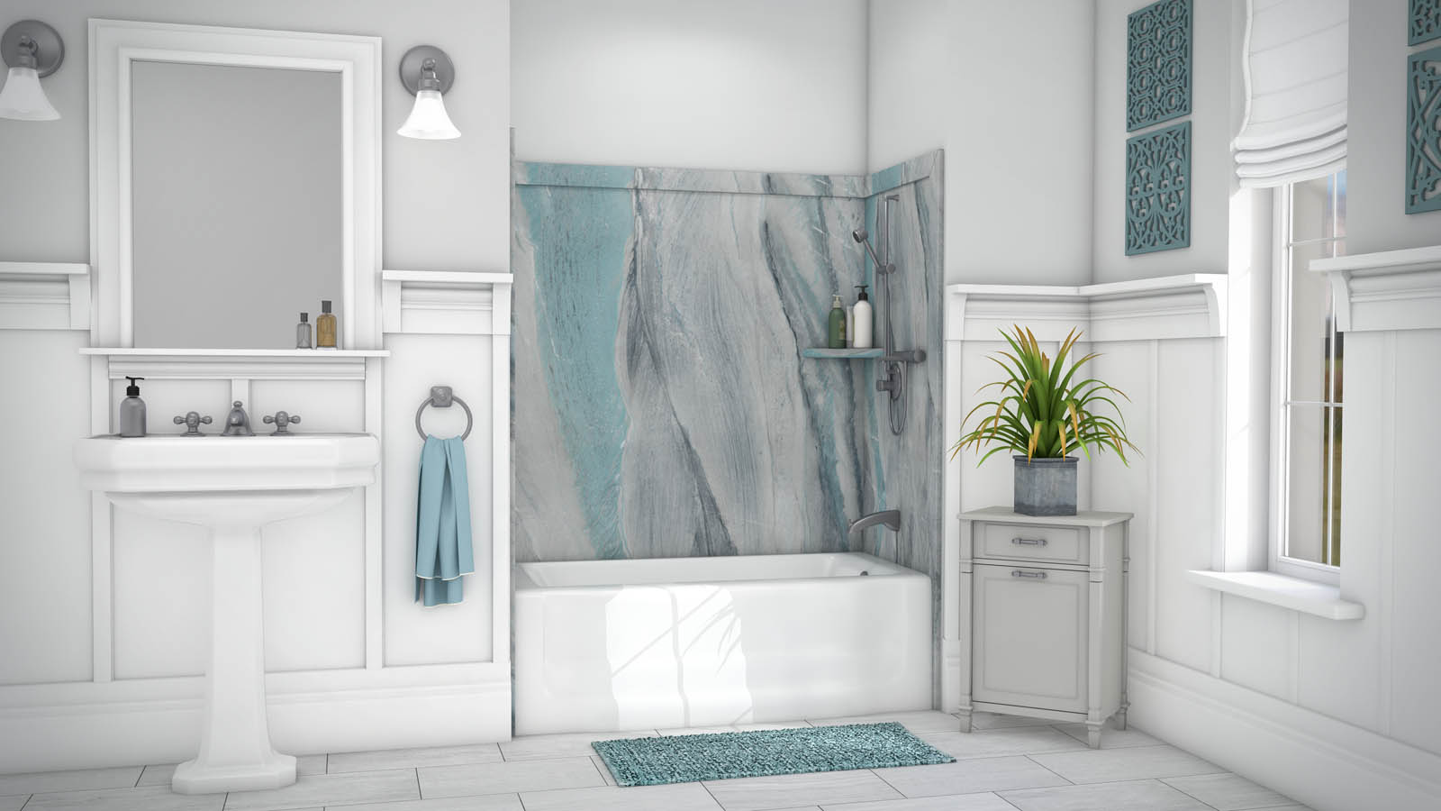 Diy Shower Tub Wall Panels Kits Innovate Building Solutions