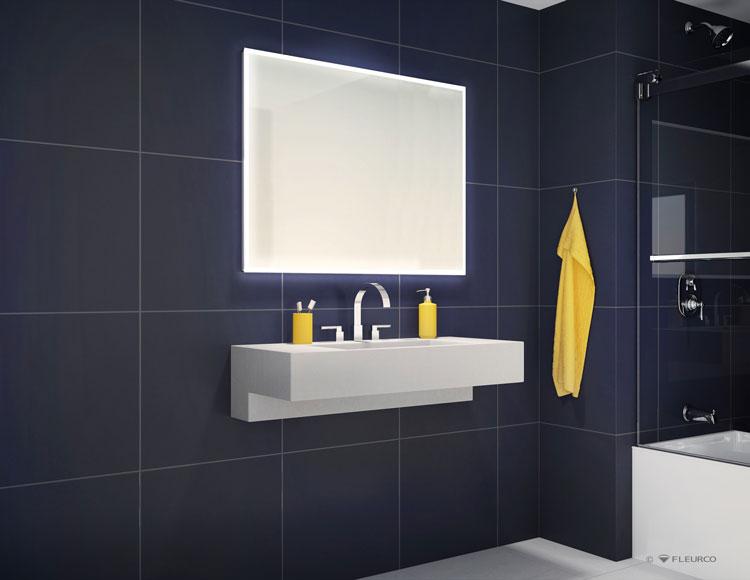 Led Lighted Bathroom Vanity Mirrors Medicine Cabinets