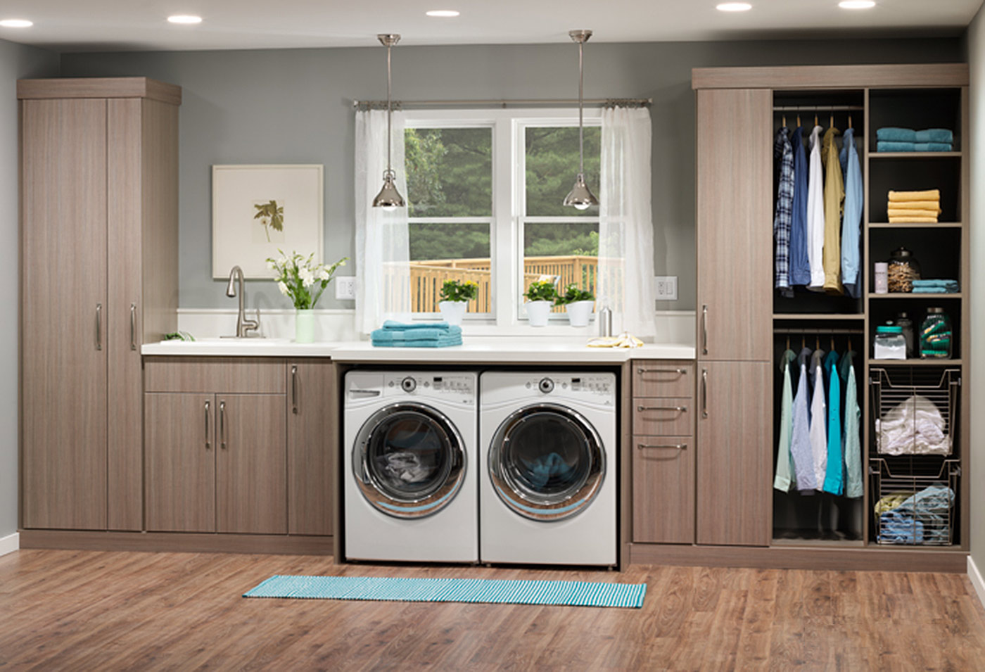 Laundry Room Countertop Material Laundry Room Cabinet Accessories Innovate Home Org Columbus