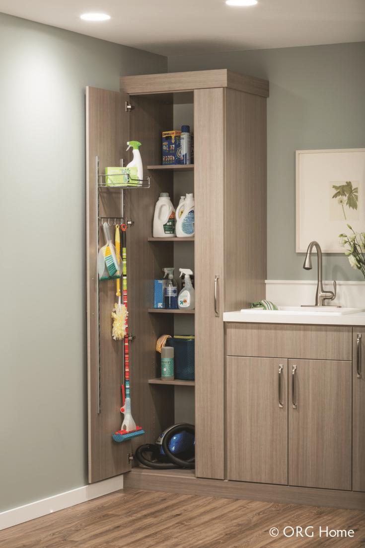 7 Columbus Laundry Room Storage Zones Cabinet And
