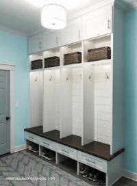 Columbus Mudroom Cabinet Organization and Storage Ideas ...