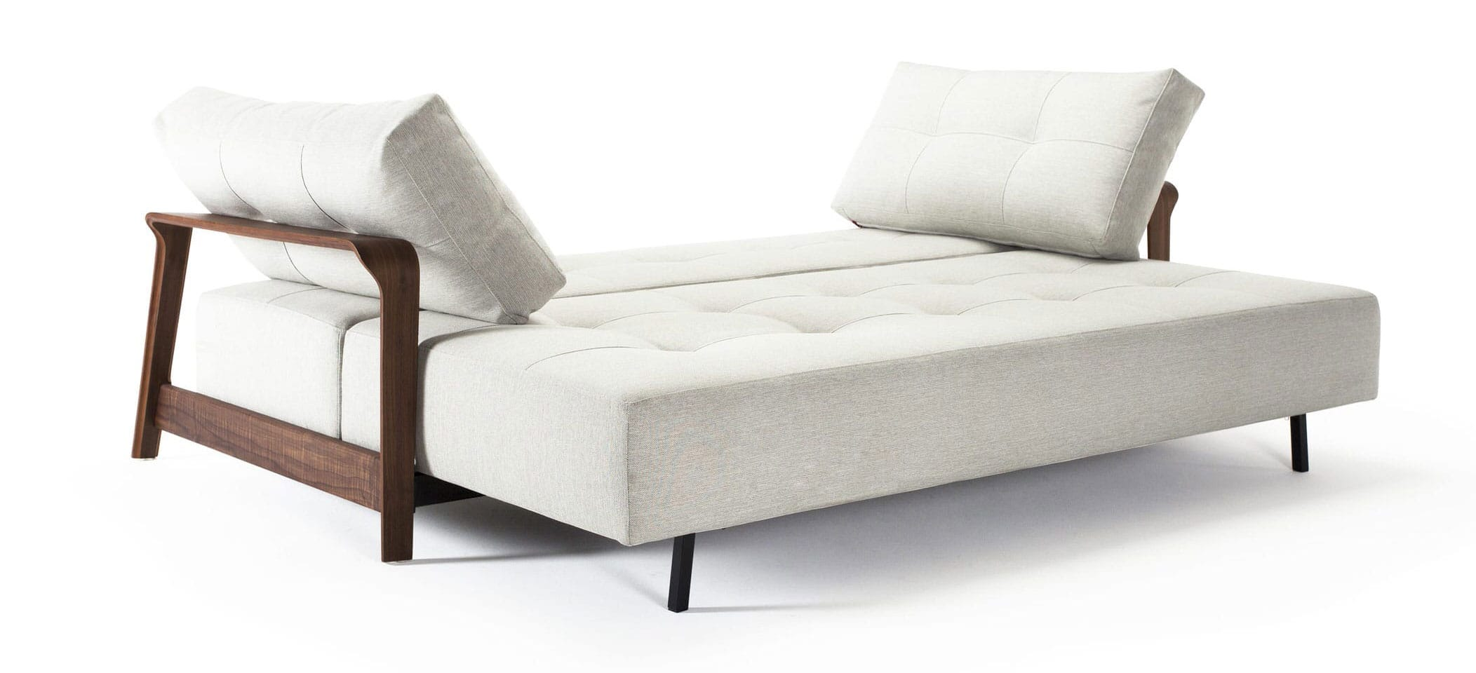 Ran Deluxe Excess Sofa Bed Queen Size Mixed Dance Natural By Innovation