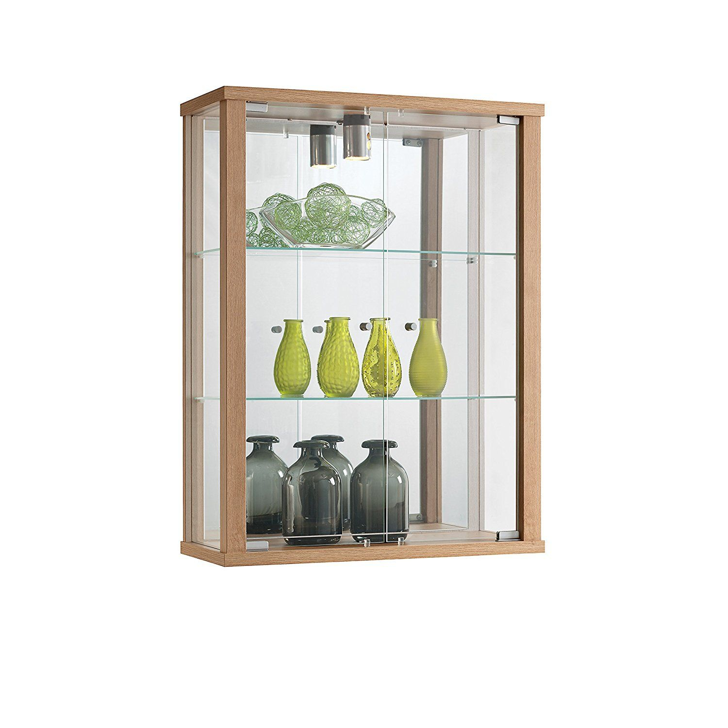 Wall Mounted Display Case Oak Wall Mounted Display Cabinet Display Cabinet